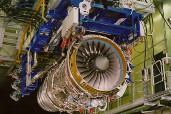 Aero Engine in Testbed